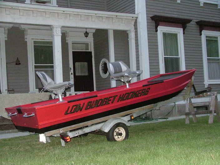 1964, 12' Jon Boat restoration