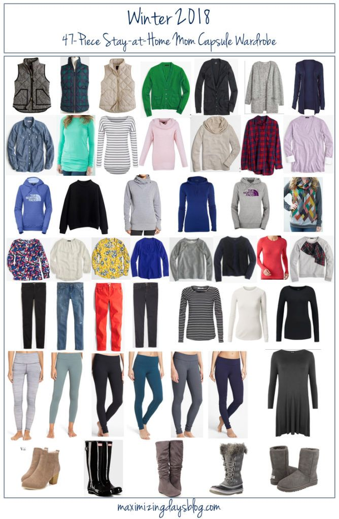 Winter Capsule Wardrobe For 2017 And 2018: Winter Capsule Wardrobe For The Stay At Home Mom