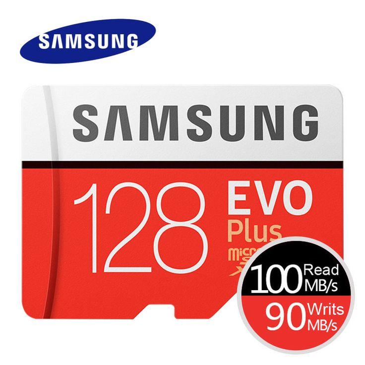 <b>SAMSUNG Memory</b> Card EVO+ <b>EVO</b>-<b>Plus</b> Micro SD 256GB 128G ...