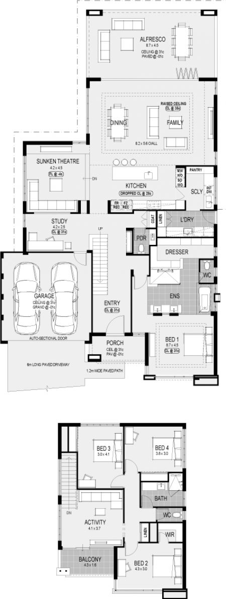 House plan A look inside our latest two storey display home   The Memphis  Plainum. 17 Best ideas about Two Storey House Plans on Pinterest   Sims 4