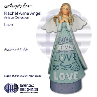 Rachel Anne Artisan Angel Figurine - Love