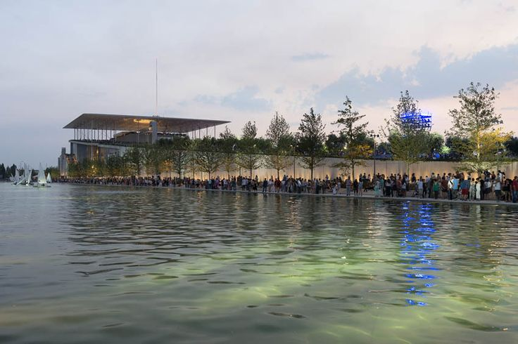 Stavros Niarchos Foundation Cultural Centre,Courtesy of SNFCC.