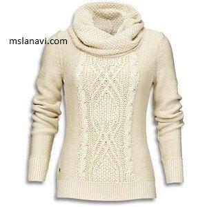 Вязаный свитер с аранами http://mslanavi.com/2015/11/vyazanyj-sviter-s-aranami-2/