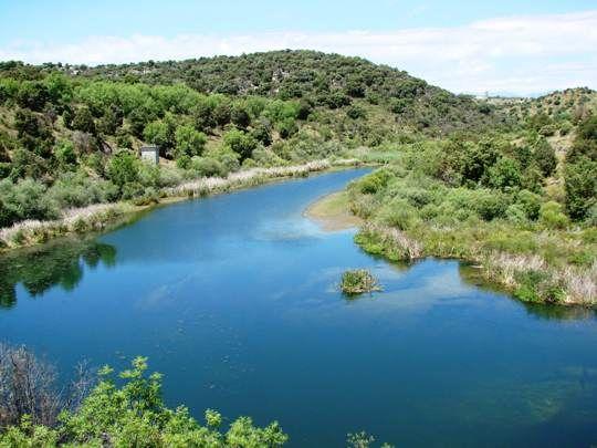 Senderismo. El desfiladero del rio Aulencia