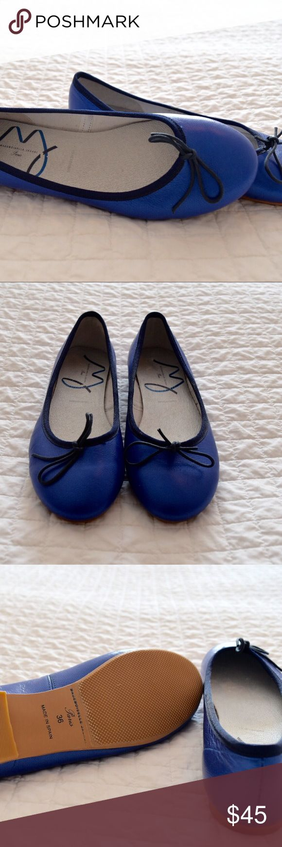 Jacadi Flats Made in Spain. European size 36 which is 4.5 in USA size. 29.5 inches. Brand new, never worn Jacadi Shoes Slippers