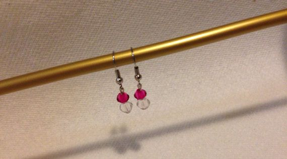 Great set of earrings for a young girl.