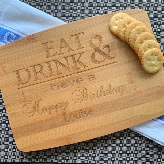 Personalised Birthday Cheese Board