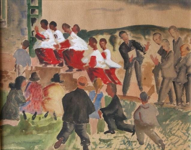 Choir Boys by Henri Masson