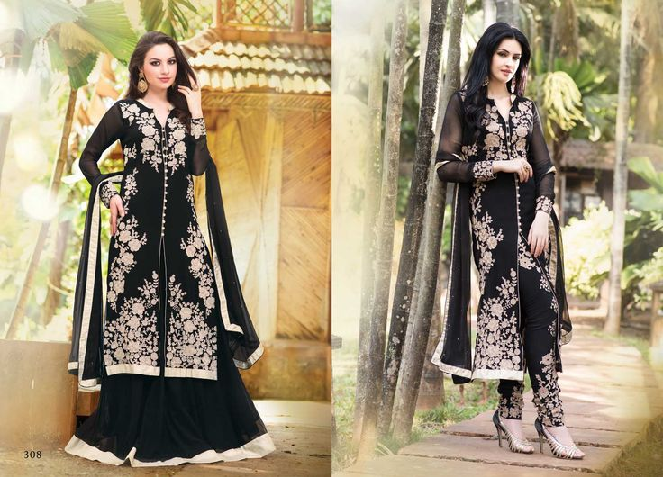 @Wedding Wear Black Color Designer Suit. Pricing Call Us or What's App on :- +91 99099 59528 Visit Our Site:=> #www.sareemall.in Email Us on:- support@sareemall.in