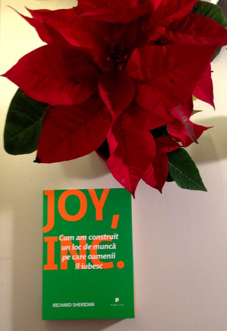 Joy, Inc. oferă know-how-ul necesar pentru a crea un loc de muncă în care cuvântul WOW să fie la ordinea zilei. #editurapublica