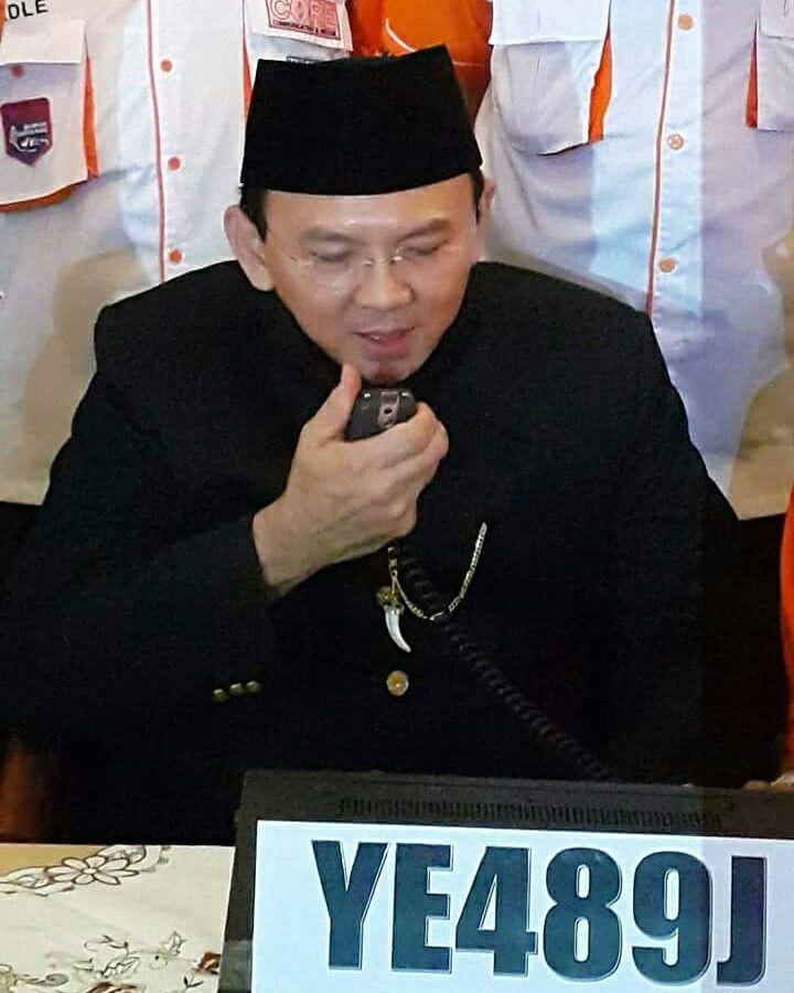 Special Call YE489J operator YDØCFK Basuki TP/Ahok - Governor DKI Jakarta