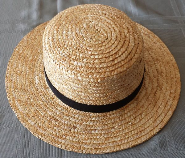 Men S Amish Straw Hat The Amish Straw Hats Wor N In As The Hats The Amish Wear Lightweight Comfortable Xl 7 1 2 Xxl 8 And Straw Hat Amish Amish Hat