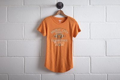 Tailgate Tennessee Music City Bowl T-Shirt by  American Eagle Outfitters | Better come prepared to Neyland Stadium. The Volunteers have an all-time winning record of 447 games, the most home wins in college football history. Shop the Tailgate Tennessee Music City Bowl T-Shirt and check out more at AE.com.