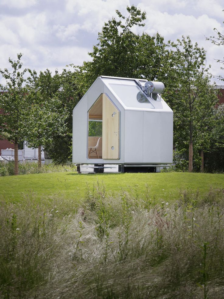 High Tech Self Sufficient Tiny Houses by Renzo Piano ....Exciting