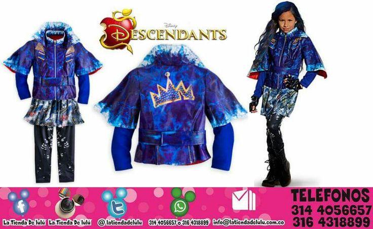 Disfraz Evie Los Descendientes Disney