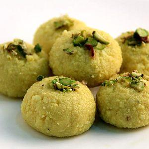 Malai Ladoo Recipe | How to make Malai Ladoo - Dessert & Salad