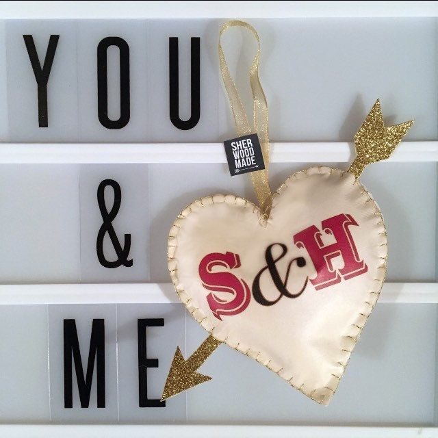 Fab new Personalised Hanger decoration. Any letters at request ❤
