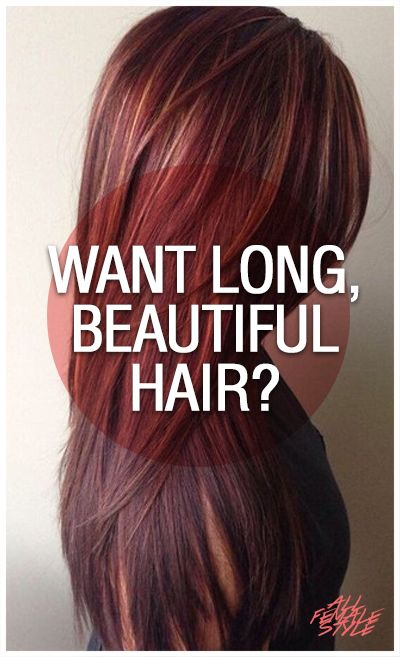 Tired of Short, Damaged Hair? Want Longer, Stronger Hair? Check Out Rebecca Lynn's Latest DIY Tips Here -> http://allfemalestyle.com/longer-stronger-pinterest-exclusive-pin04/