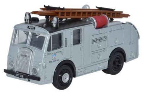 Oxford Diecast Dennis F8 Devon Fire Brigade - 1:76 Scale