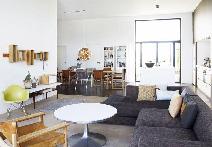Estilo nórdico moderno en una casa danesa de 167 metros²