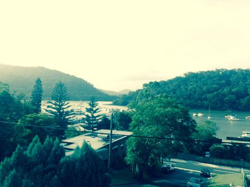 View from a house! Hawkesbury River in Brooklyn, Sydney Australia :)