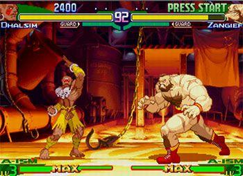 Street Fighter Alpha…
