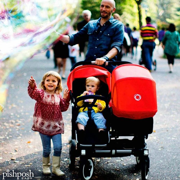 Built to grow with your family, the Bugaboo Donkey is your stroller of choice for when baby makes 4. Huge wheels make this a great choice for all-terrain or urban adventures. Just 3 easy clicks take this stroller from mono to duo, and back again in no time. Shop our entire Bugaboo Donkey line!  http://www.pishposhbaby.com/bugaboo-donkey-stroller.html