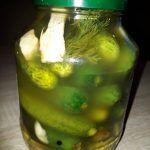 Pickled Cucumbers (Mama Floris Recipe)