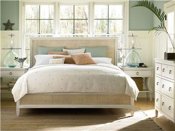 Universal Furniture | Summer Hill | Woven Accent Bed (King) | 987220B For sale on one kings lane- also at morris sokol