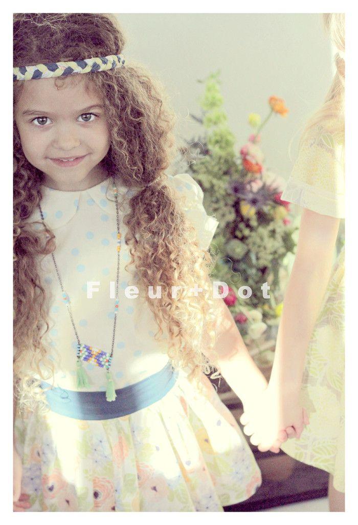 A Meadow Romp Skirt by Fleur + Dot Spring Summer 2014 www.FleurandDot.com #kids #fashion #fleuranddot