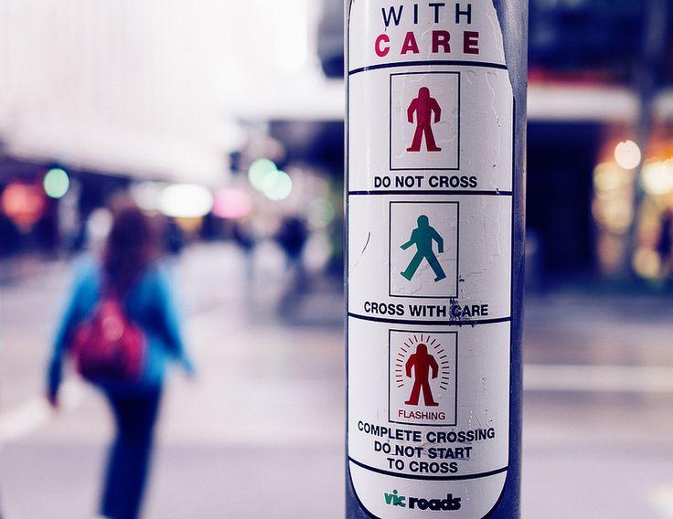 Melbourne street crossing