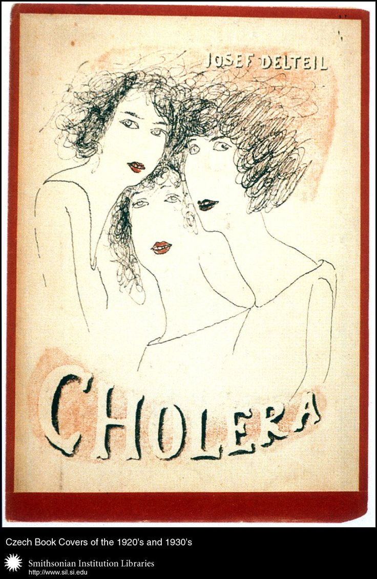 Joseph Deltaile, Cholera, 1926. Cover by Josef Šíma.