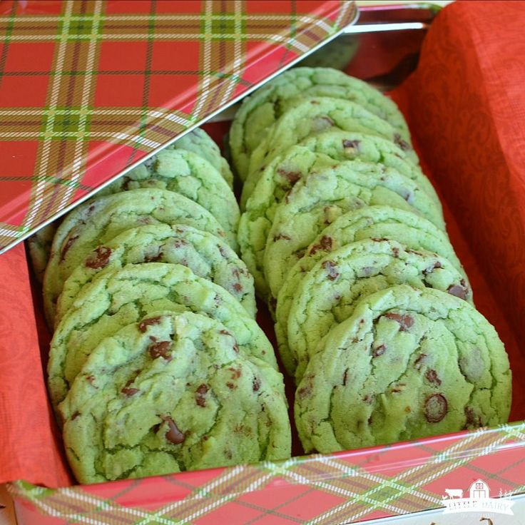 "Mint Chip Sugar Cookies are always a Holiday favorite! And what would the Holidays be without mint ""everything""? These cookies are ""melt in your mouth soft"" and have the per…"