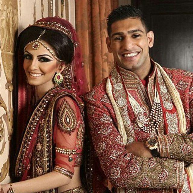 Amir Khan & Faryal Makhdoom said I Do!  2013 #bride #groom #mrandmrs #shesaidyes #happy #love #smile #beautiful #happy #shesaidyes #smile #beautiful #celebration #romantic #husbandandwife #instawedding