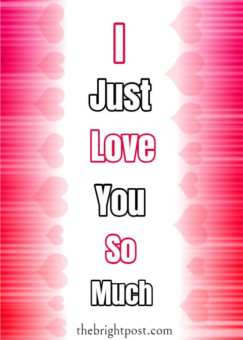 I Love You So Much Images I Love You So Much Status Pinterest