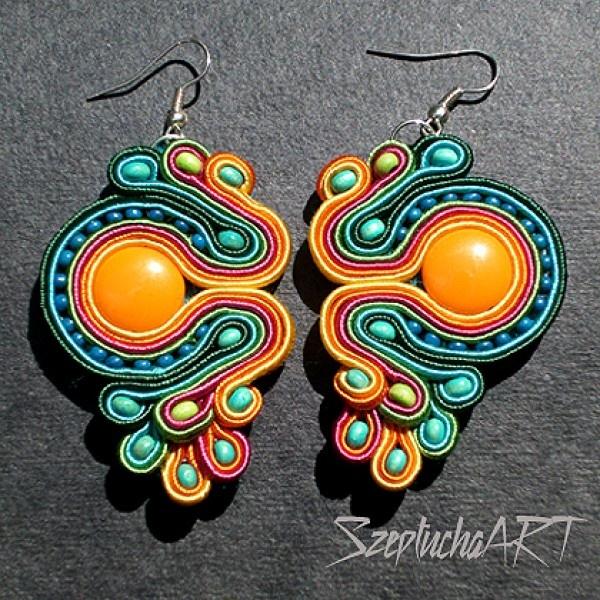 Stylandia.pl - Biżuteria artystyczna - AZTEC SOUTACHE