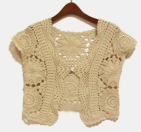 Irish crochet &: Bolero