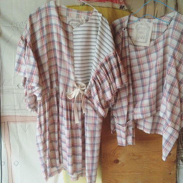 明日から夏物販売会です。 夏にピッタリな涼しげな素材感で服を作りました。  明るい色から暗い色まで色々とご用意しております。  #nusumigui  #Handmade  #tokyo  #diyfashion  #diy  #Sewing  #summer  #Dress #Clothes #fashon