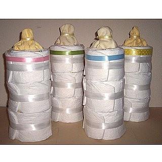 Baby shower gift idea ~ diaper bottle