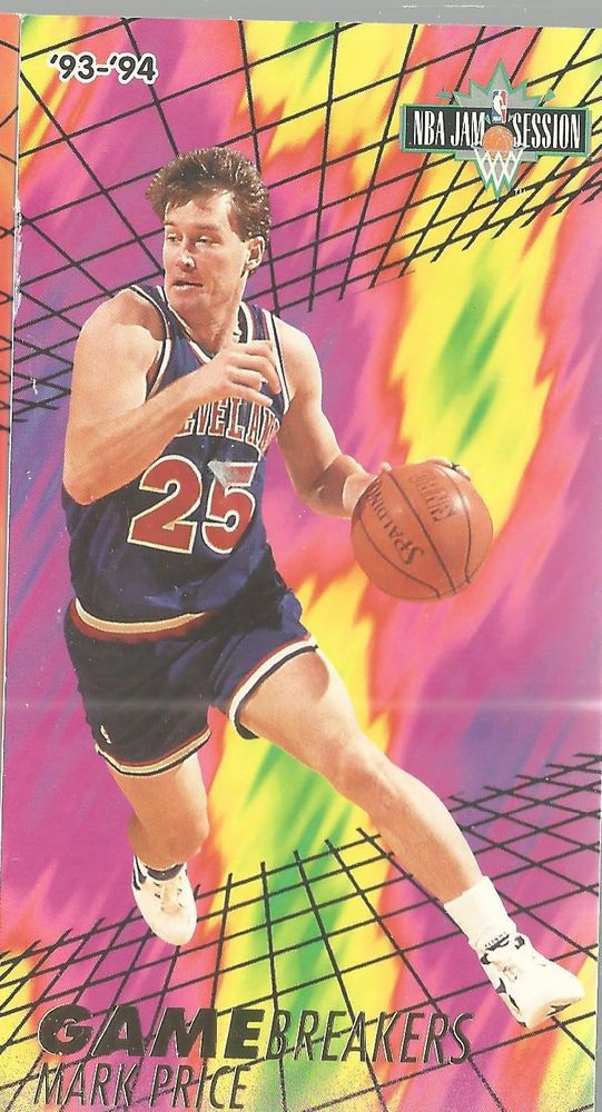 Mark Price Gamebreakers 6 Of 8 1993-94 Fleer Jam Session Basketball Card   | eBay