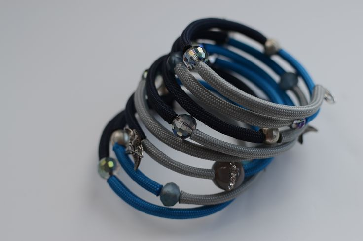 Ashley Bunting's  Beachcomber's wrap around bracelet is made using memory wire.