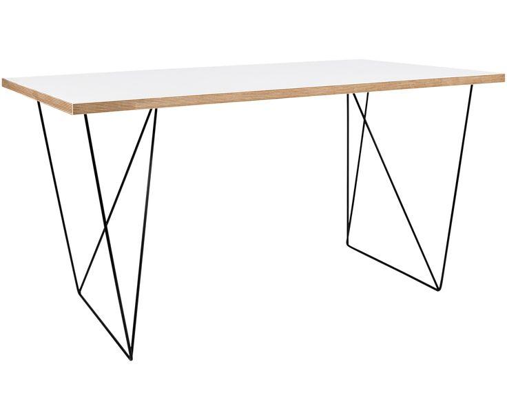 € 269 Der Schreibtisch Flow Two in Weiß und Schwarz ist perfekt für Ihr Arbeitszimmer. Shoppen Sie weitere Büro-Möbel auf >> WestwingNow.