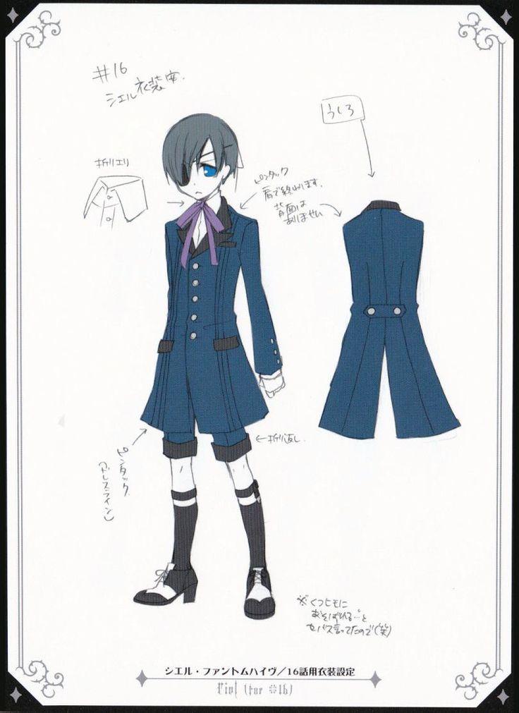 Anime/manga: Black Butler (Kuroshitsuji) Character: Ciel
