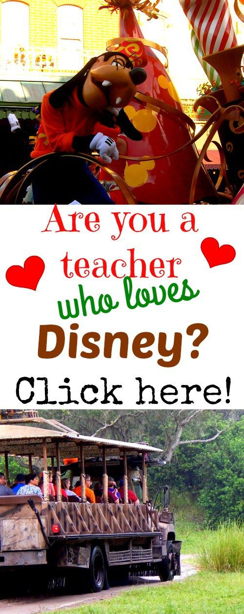 Disney Teachers - If you are a teacher who loves Disney, you have to visit The Educated Mouse! Teacher Discounts, fun Disney-inspired classroom activities, and free Disney printables are just a few of the resources teachers who love Disney can find on this wonderful blogsite!