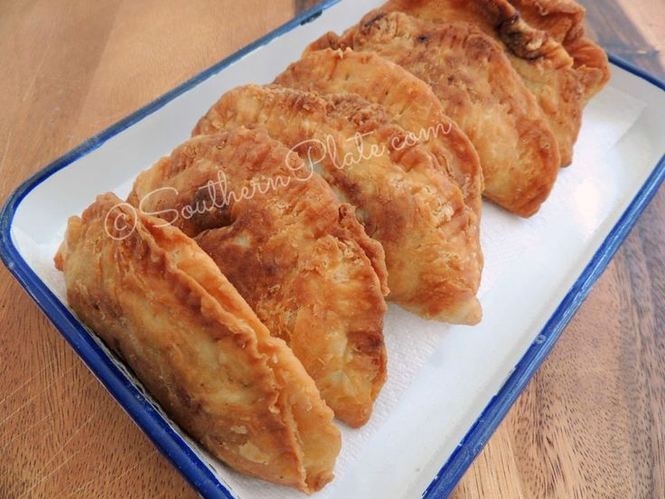 Chocolate Fried Pies from SouthernPlate, my grandmother used to make these, wish I had the time. Love that his recipe gives an easy way and the real way!!