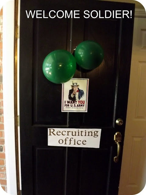 "Army party - ""recruiting office"""
