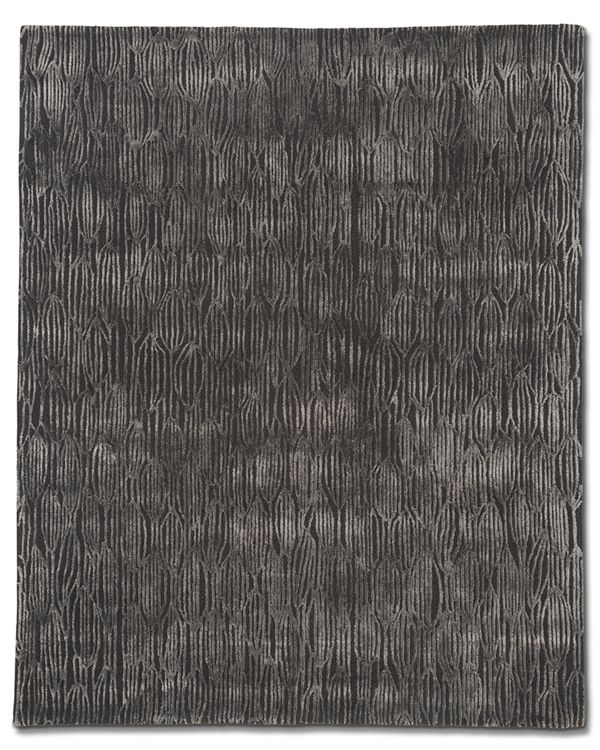 Ivy Charcoal Tufted | Tufenkian Carpets