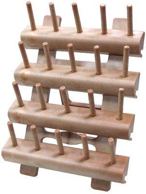 Burda Style Estante de madera para bobinas - Accesorios - COSTURA - TIENDA BURDA