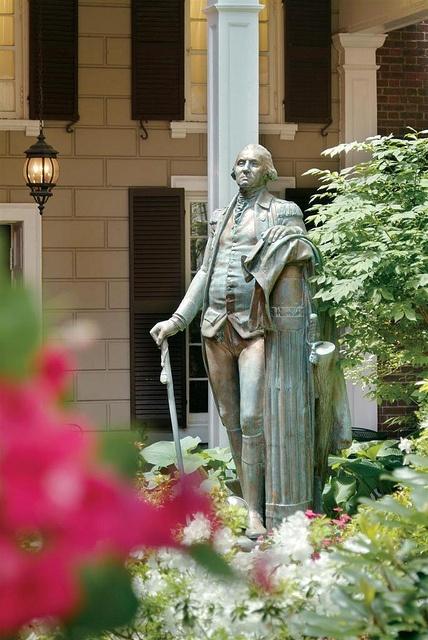 General George Washington at the Sheraton Commander Hotel in #CambridgeMA