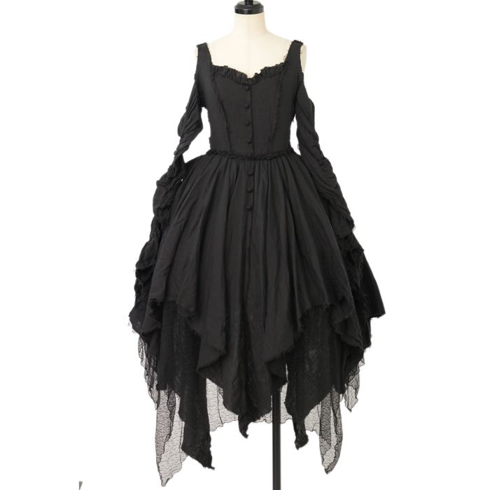 ♡ alice auaa ♡ Black gauze dress http://www.wunderwelt.jp/products/detail12114.html ☆ ·.. · ° ☆ How to order ☆ ·.. · ° ☆ http://www.wunderwelt.jp/user_data/shoppingguide-eng ☆ ·.. · ☆ Japanese Vintage Lolita clothing shop Wunderwelt ☆ ·.. · ☆